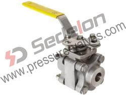 Socket Weld End Ball Valves