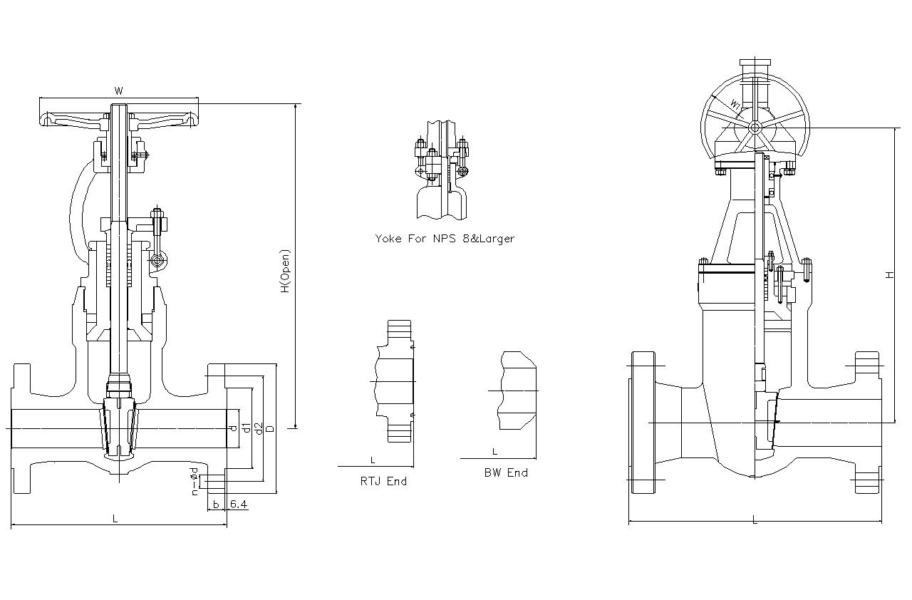 China pressure seal gate valve manufacturer supplier factory class1500 pressure seal gate valve pooptronica Images